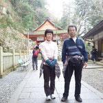 奥の院の「巌魂神社」