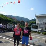 家内の幼稚舎時代からの友人の和子さんと沖縄が大好きな旦那さん