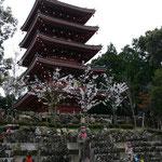 竹林寺の五重塔
