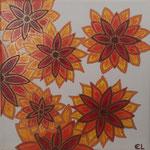 Blumen in Rot