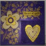 Heart of Gold violett