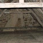 Avant : chambre 50m2 sous fait de toit, HSP 6m