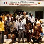 Une délégation de Grand-Lieu à Nokoué en 1995