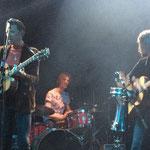 Trommel-Session beim Song 'Avalon' von Prince York und Slim Pearl