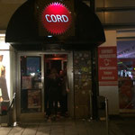 Das Café Cord in München, nahe dem Stachus von Aussen
