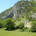 La falaise d'escalade
