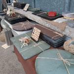 流行りのスレート皿 軽井沢と葉山の食器屋さんに納品しております