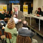 """.... Veranstaltung """"Lesen in Altona"""" - Kulturpolitik ganz praktisch .... Quelle: G&J"""