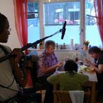 Abendessen bei Rita, Brigitte und Assistentin Sabine