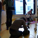 ... sicheres Spielen im Patientenzimmer ist genauso wichtig wie die richtige Behandlung ...