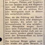 1987: Minusgrade und Frühjahrsputz