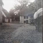 Mühlhof vom Dorf aus gesehen
