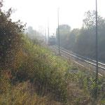 Blick auf den Bahnhof