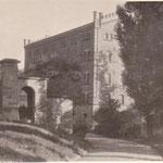 Blick zur Mühle und zum Wohnhaus