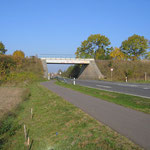 Grubenbahnbrücke (hier noch ohne Gestaltung)