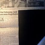 1988: Neue Kegelbahn