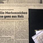 1988: Tischlerei Lehmer