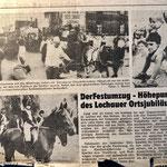 1987: Dorfjubläum 825 Jahre Lochau