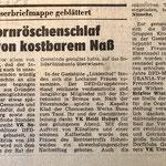 1983: Verlust an kostbarem Nass