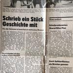 1983: Schreib ein Stück Geschichte