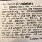 1987: Gepflegte Grundstücke