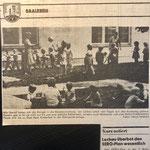 1985: Kindergarten Lochau