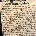 1984: Ein Projekt für den Jugendclub