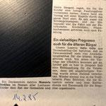 1985: Programm für Ältere Bürger