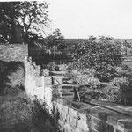 Der große Garten an der Mühle