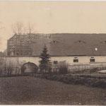 Der 1930 abgerissene Kuhstall