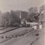 Perspektive nach Abriss des alten Kuhstalls