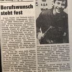 1984: Berufswunsch steht fest