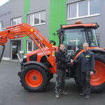 Traktor mit Druckluft FKH und FZW