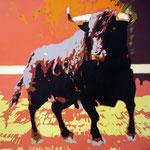 Aanvallende stier