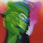 Portret groen