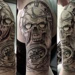 Skull, Compass