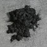 Farbflock schwarz