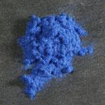 Farbflock blau