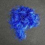 Farbfäden blau