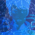 """Blaue Witwe VI"" - Foto-Collage - 2015"