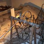 installation jeux d'ombre roues de poussette moteur de tourne disque lampe sculptures Les barques