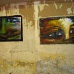 les yeux de carmens huiles sur toile