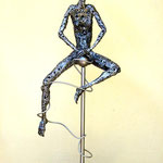 untitled - Size (cm): 35x84x20 - Weigth: 5,5 kg - metal sculpture