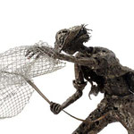 Fisherman - Size (cm): 70x45x30 - Weigth: 3,9 kg