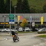 2. Etappe - Sihlbrugg, Kreisel (Kanton Zug)