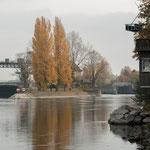 1. Etappe - Augst, Kraftwerk Augst, Rheinpfad