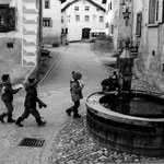 VILLAGE SCENE - Guarda, Switzerland