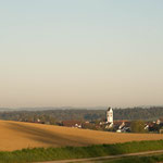 14. Etappe - Blick auf Ossingen