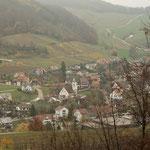 2. Etappe - Kt. Aargau, Önsberg, Blick auf Maisprach (BL)