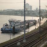 1. Etappe - Muttenz, Schifflände, Rhein